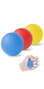 hand strengthener hand grip stress relief balls squeeze balls