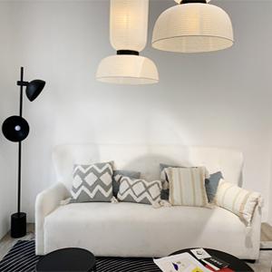 tassel throw pillow cover tufted sofa pillow decorative throw pillow cream pillows