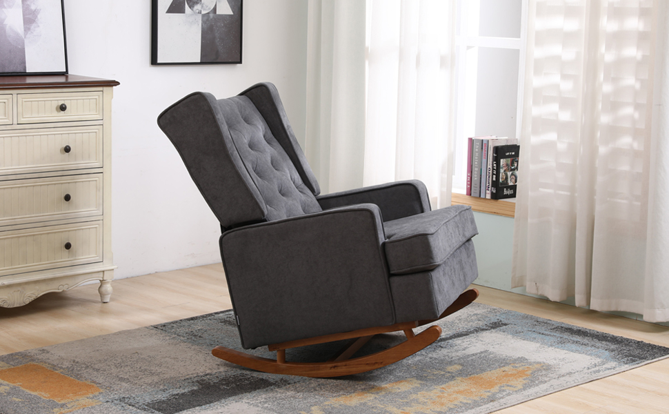 tall wingback accent chair