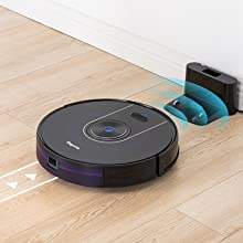 mop room map mapping alexa google home wifi app control upgraded intelligent navigation smart charge