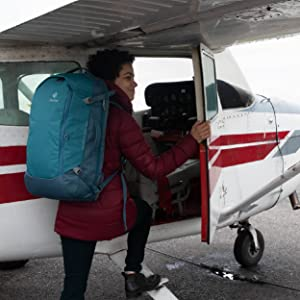Negro Talla /única Mujeres Deuter Aviant Access 38 SL Mochila De Viaje