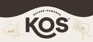 kos plant based vegan protein reds greens juice blend mushroom capsules immune defense acai coconut
