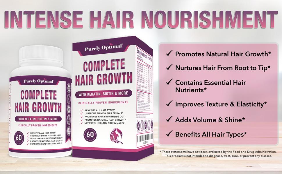hair growth supplement benefits