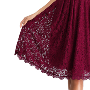 Soft and Comfortable Floral Lace Always Bring You Elegant Look