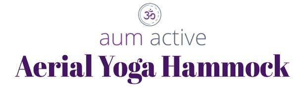 aum active aerial yoga hammock