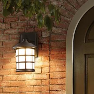 sansi dusk to dawn light bulb enclosed light fixture bulb