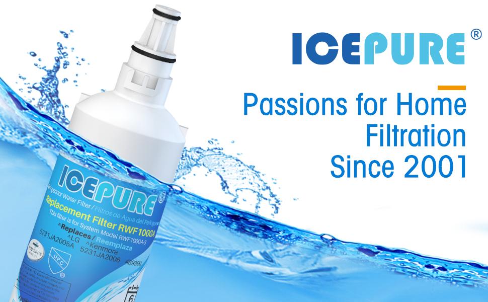lt600p lg refrigerator water filter