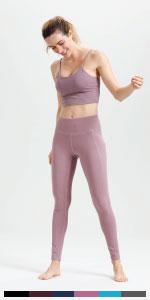 pink leggings for women