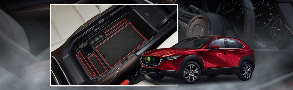 Ruiya Cx 30 2019 2020 Mittelkonsole Aufbewahrungsbox Aufbewahrungskiste Veranstalter Armlehne Box Armlehne Organizer Auto Armlehne Aufbewahrungsbox Autozubehör Rot Auto