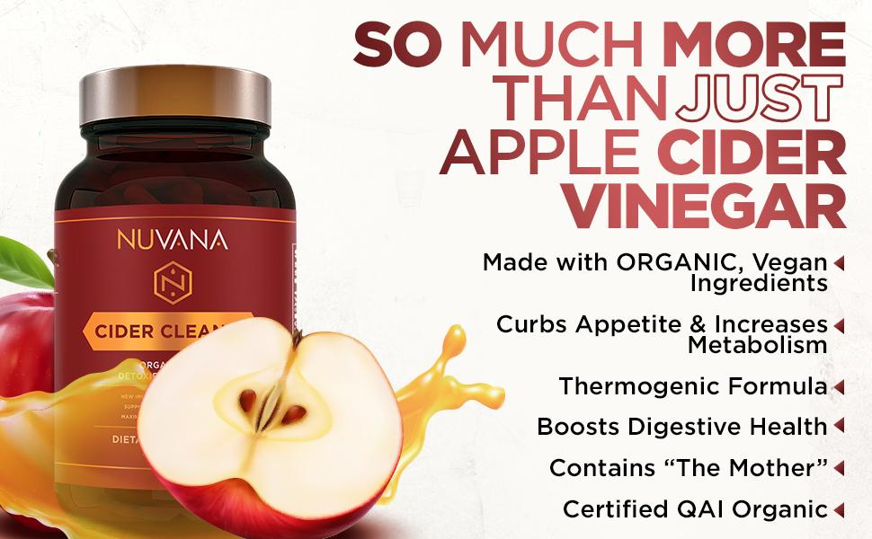 Nuvana Cider Cleanse Organic Apple Cider Vinegar