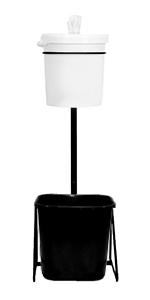 Amazon Com Floor Stand Gym Wipe Dispenser Stainless