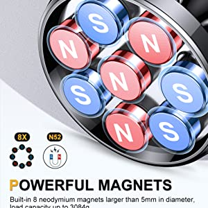 Strong magnetic suction