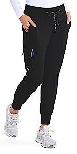 model wearing Grey's Anatomy Women's Kira Pant (GRP534)
