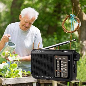 radio radios portable radio am fm radio transistor radio with speaker