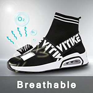 1d49f866cc9e2 Running Lightweight Breathable Casual Sports Shoes Fashion Sneakers Walking  Shoes