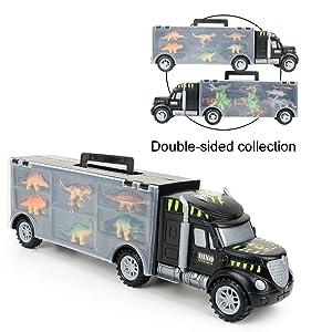 dinosaurs transport car