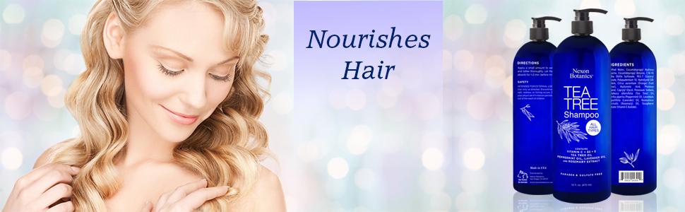 Nourishes Hair