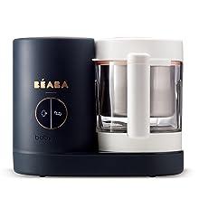 beaba, babtycook, baeba, baby food maker, food processor, steamer and blender