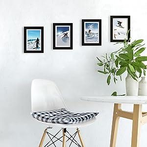5x7 picture frames black