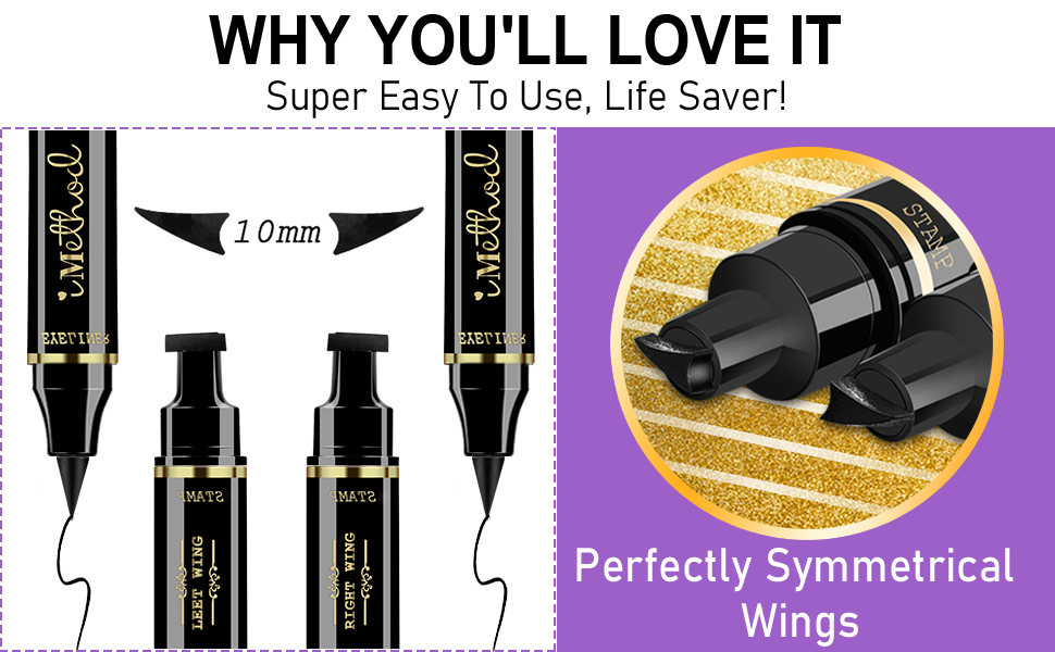 Wing Eyeliner Stamp