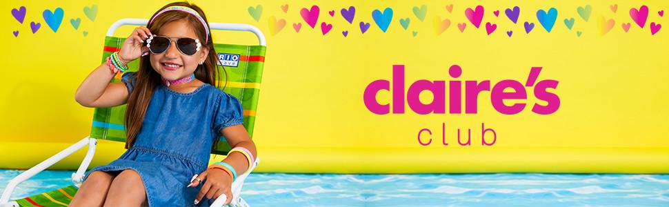 Claires Claire/'s Pendientes Rosa Tejido Dangly Lindo Joyería Rrp £ 5