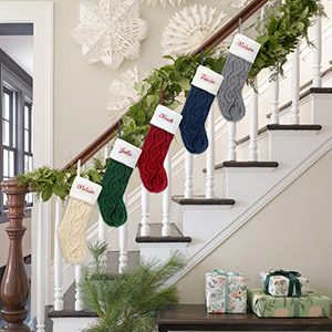 personalized customized christmas stocking set of 5 for family