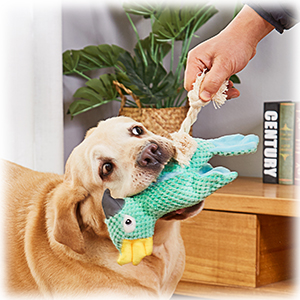 Tug of War Plush Dog Toy for Large Breed