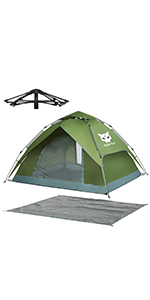 Night Cat Pop Up Tent