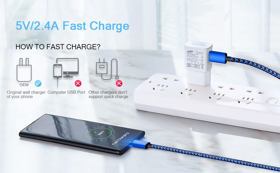 2.4A Fast Charger Cable