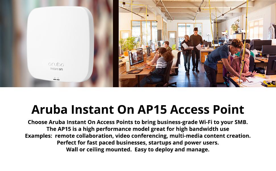 Aruba Instant On AP15 Wireless Access Point