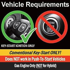 key-to-start gas