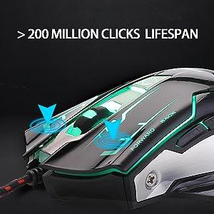 200 million clicks