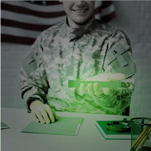 Soldier glow stick