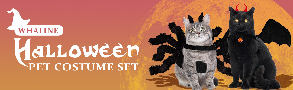 Halloween Pet Costume Set