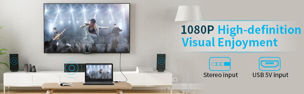 VGA to HDMI Adapter 3