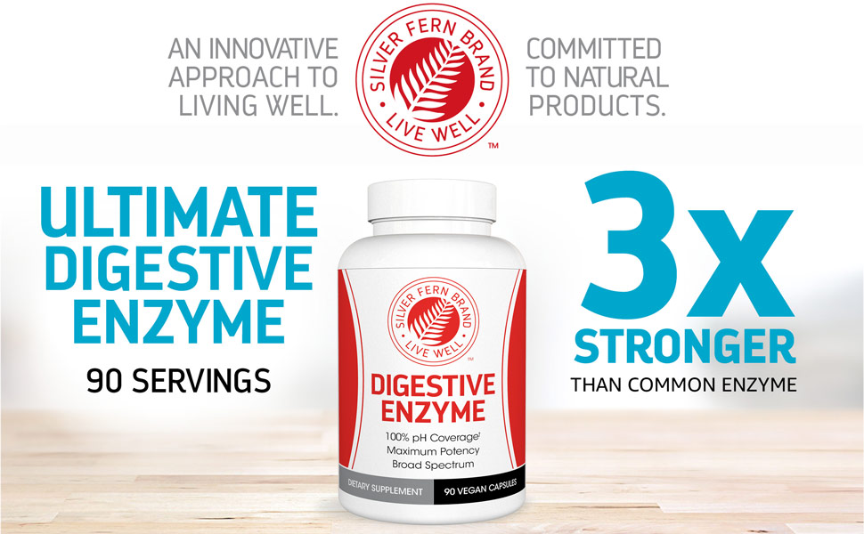 Ultimate Digestive Enzyme - 3x Stronger than common enzyme