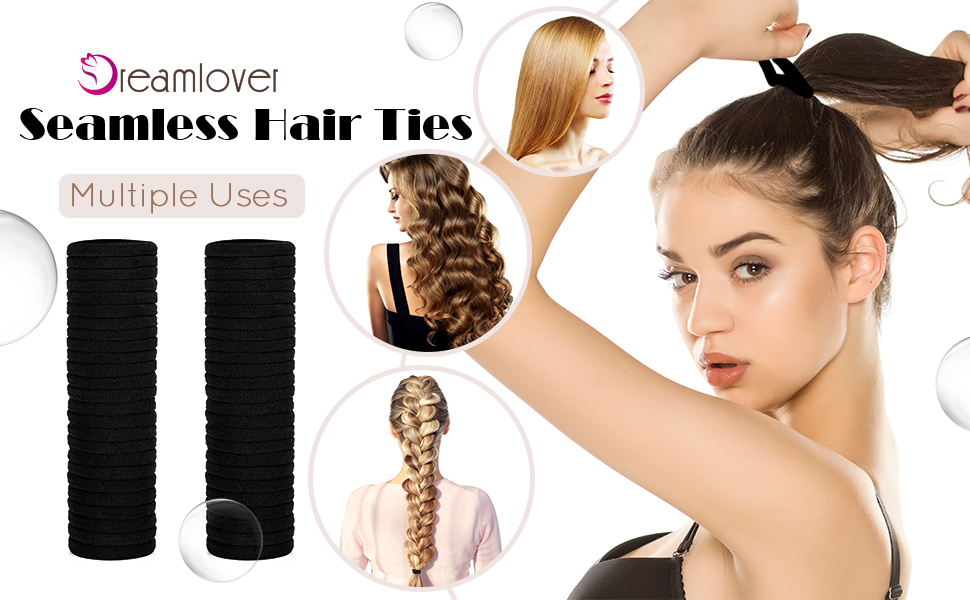 Dreamlover Seamless Hair Ties