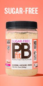 Sugar-free PBfit