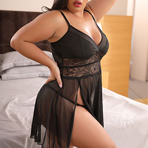 Sexy Front Slit Lignerie