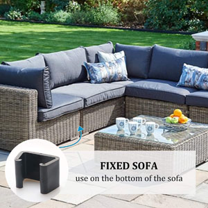 Outdoor Patio Wicker Furniture Clips