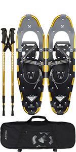Gold Snowshoes
