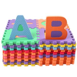 Alphabets /& Chiffres Tapis de Jeu Tr/ès R/ésistant pour Enfants StillCool Puzzle Tapis Mousse B/éb/é 15cm x 15cm 36 Pi/èces