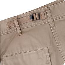 Adjustable waist tabs