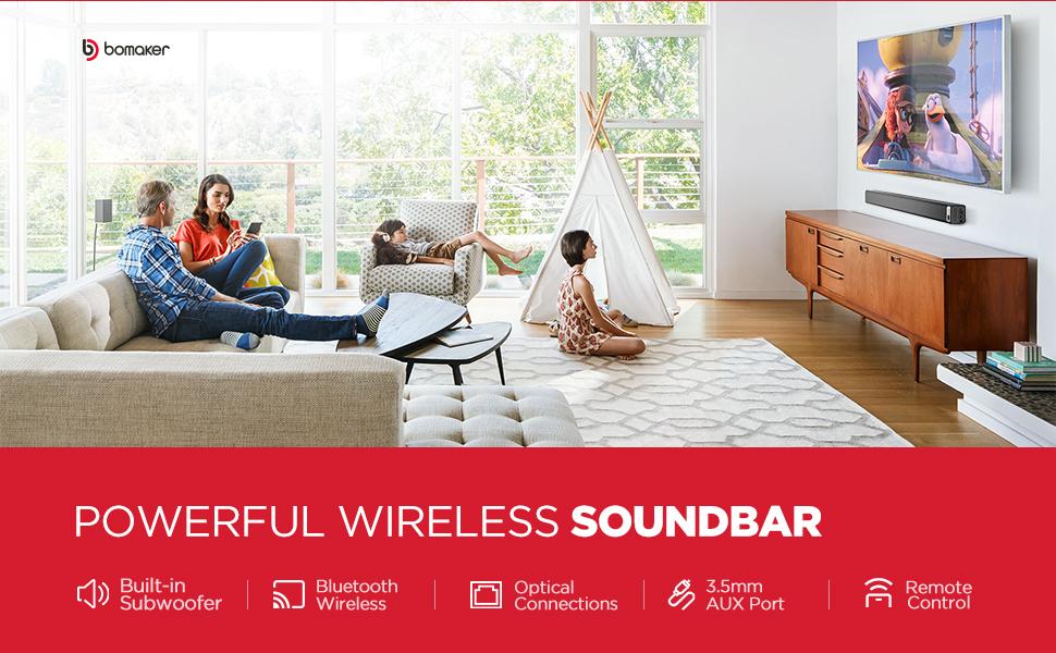 sound bar banner