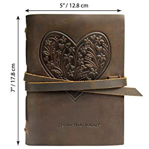 writing book hearts for women leather notebook heart girl writing book teen keepsake women men