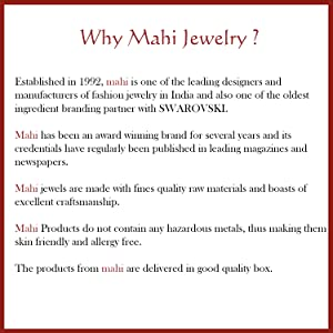 About Mahi Jewelry
