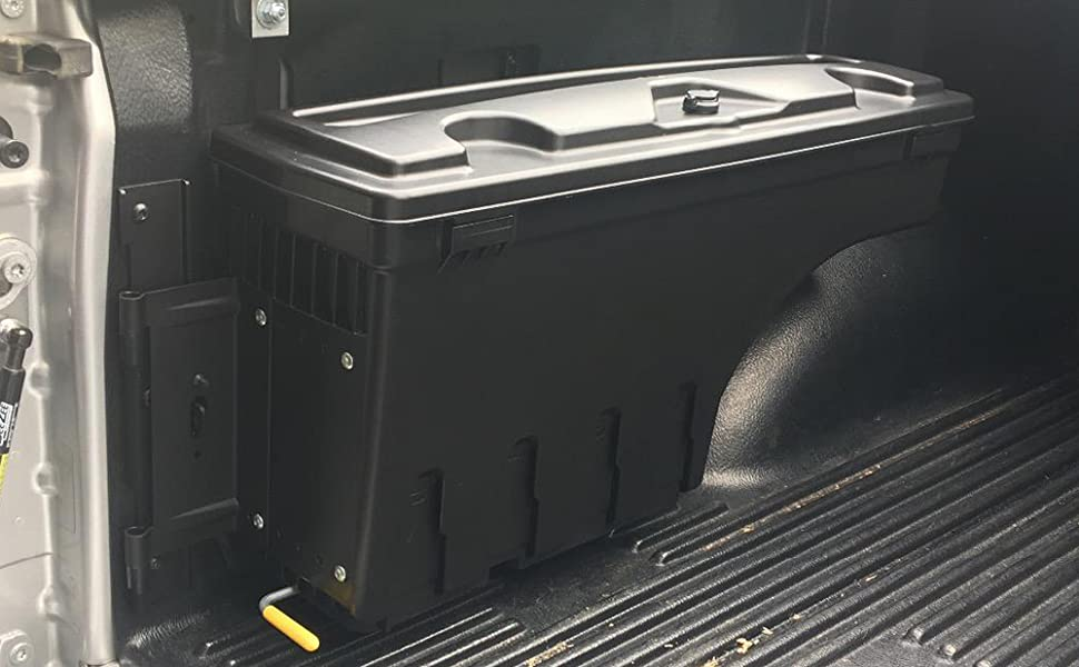 VRracing New Toolbox Compatible for Toyota Tacoma 2005-2020 Rear Left Driver Side Truck Bed Storage Box Replacement