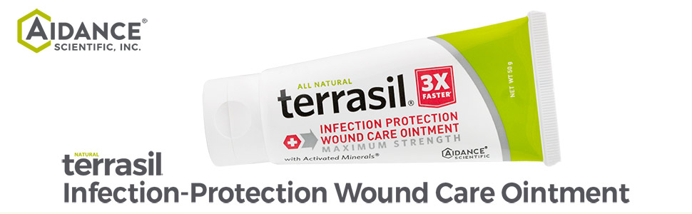 aidance skin care terrasil infection protection wound care ointment