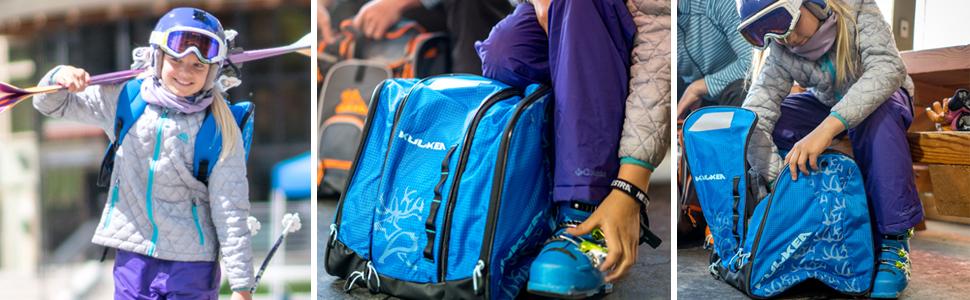speed star kids ski boot bag gear