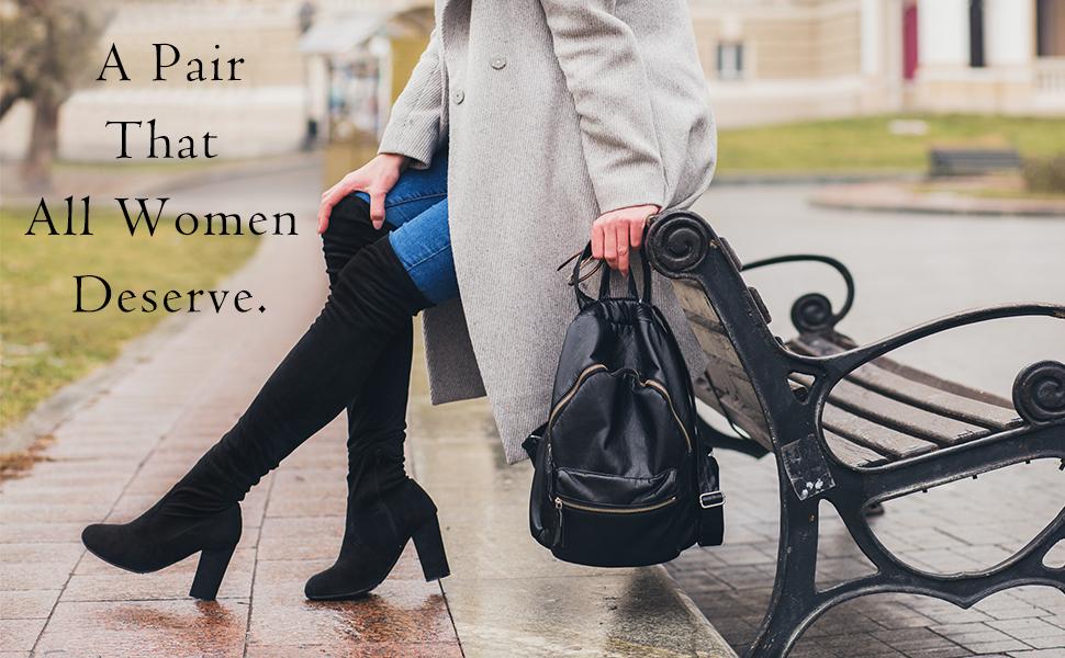 A pair that all women deserve.